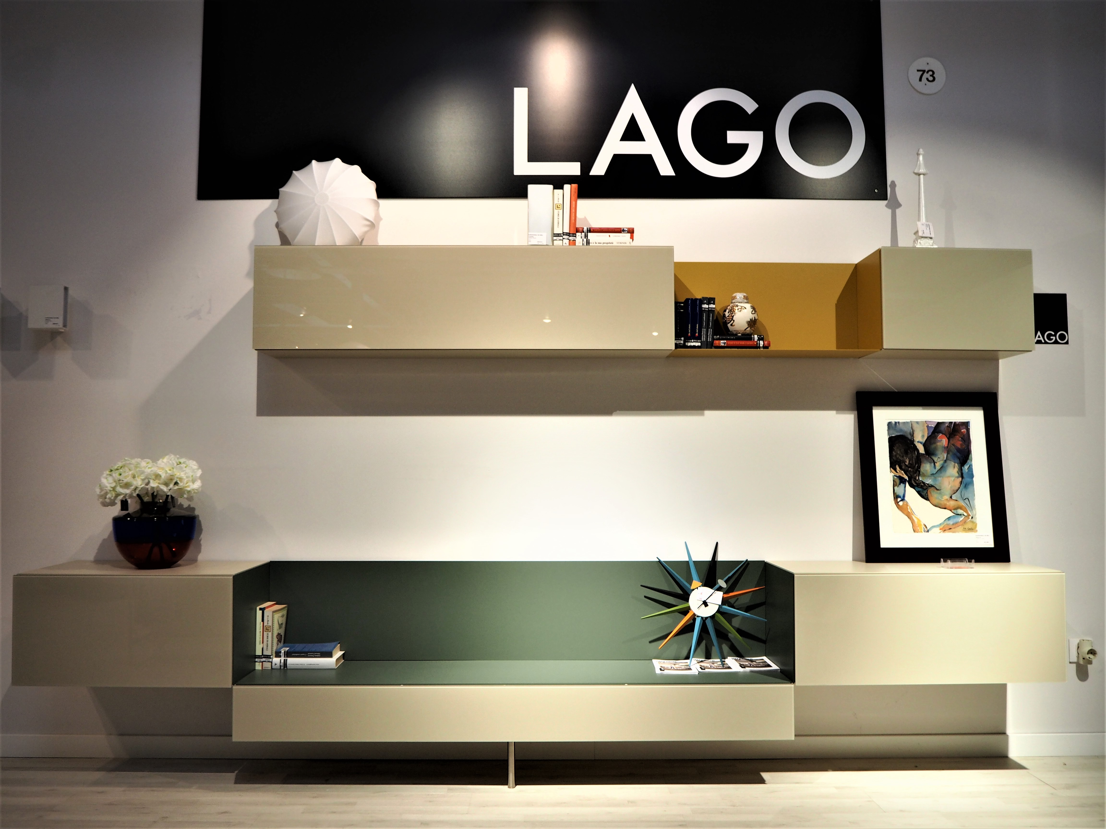 "TV unit ""36e8"" LAGO"